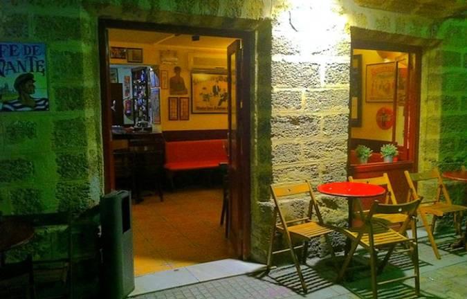 El Café de Levante, un clásico de Cádiz