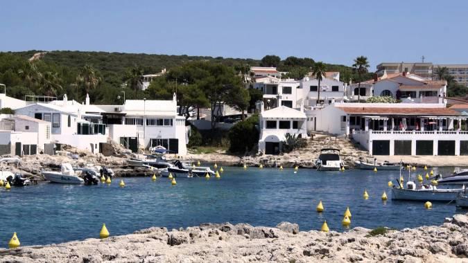 Biniancolla, en la isla de Menorca