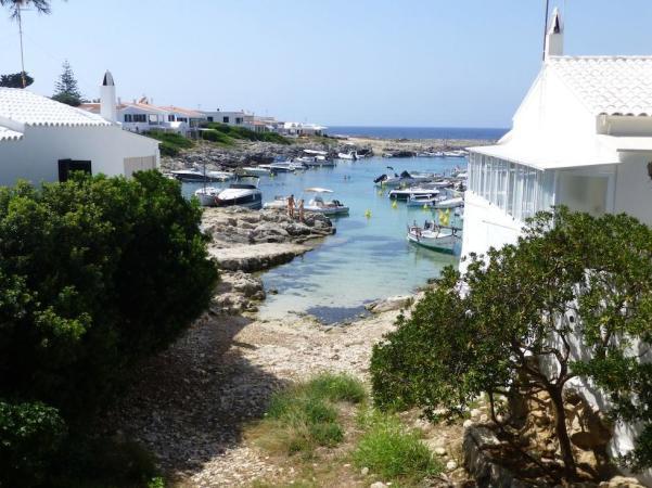 Cala de Biniancolla, en Menorca
