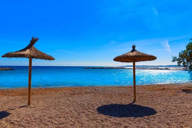 Playa de Cala Bona, en Mallorca