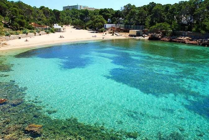 Cala Gració, una bonita playa en Ibiza