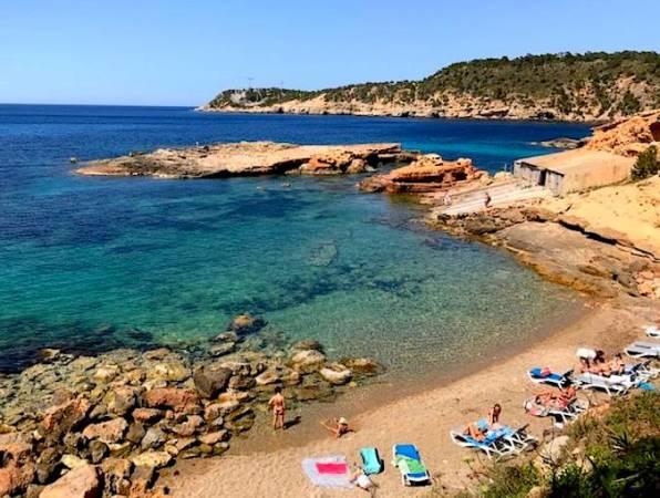 Cala de S'Illot des Renclí, en Ibiza