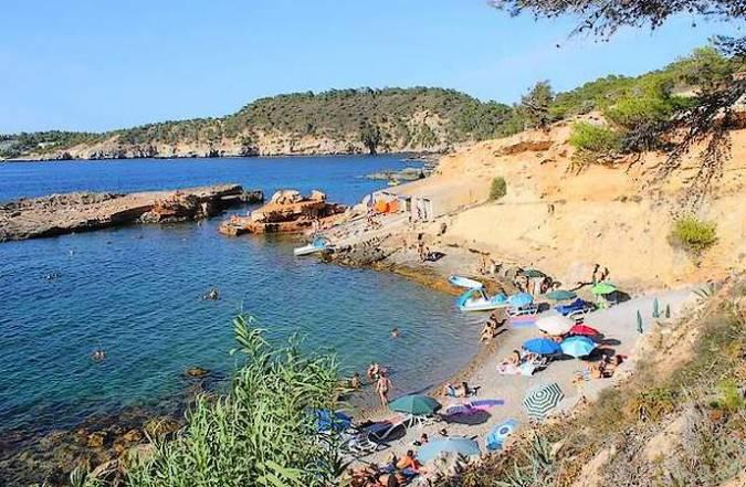 Cala S'Illot des Renclí, en Ibiza