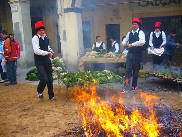 La Calçotada de Valls, en Tarragona