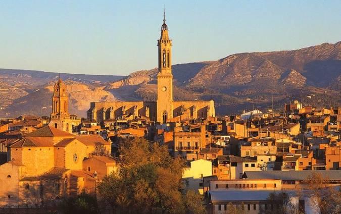 La localidad de Valls, en Tarragona