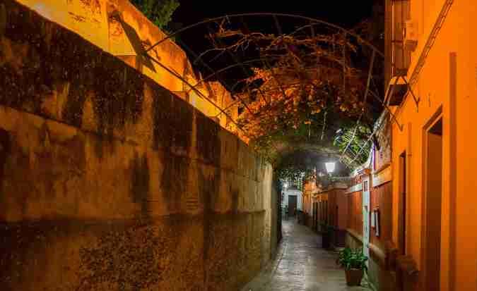 La calle del agua, en Sevilla