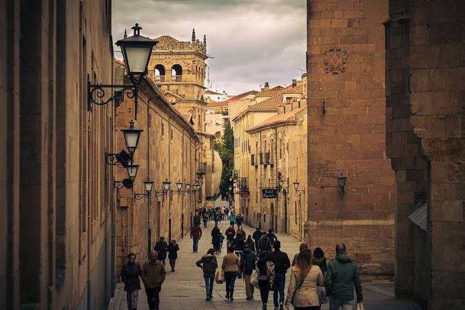 Las calles más bonitas del centro de España