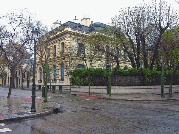 La calle Zurbano de Madrid