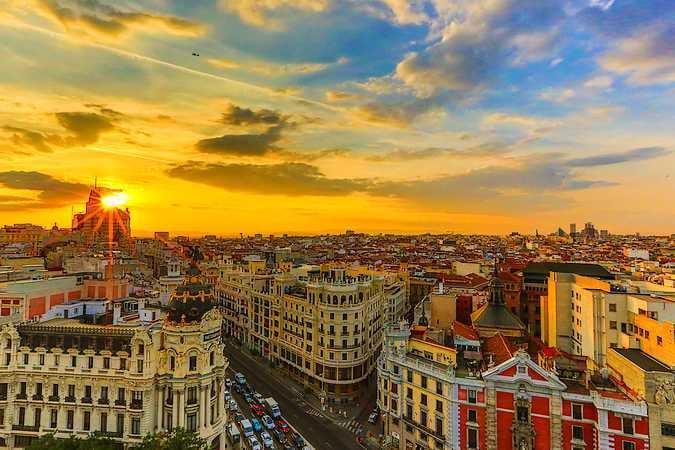 La ciudad de Madrid está repleta de bellas calles