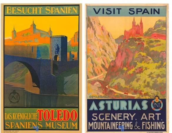 Antiguas campañas para promocionar el turismo en España