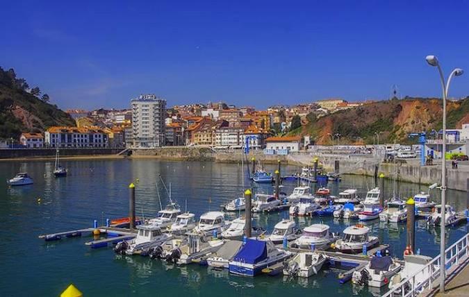 La villa marinera de Candás, en Asturias