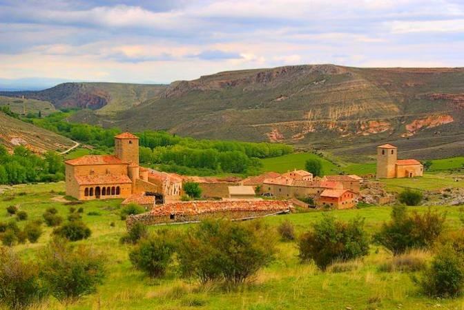 El Cañón del río Caracena, en Soria