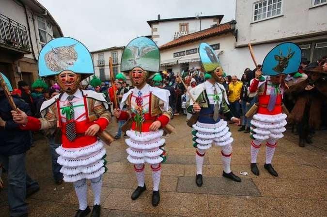 Carnaval de Laza, en Ourense, Galicia