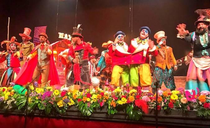 El animado Carnaval de Marbella