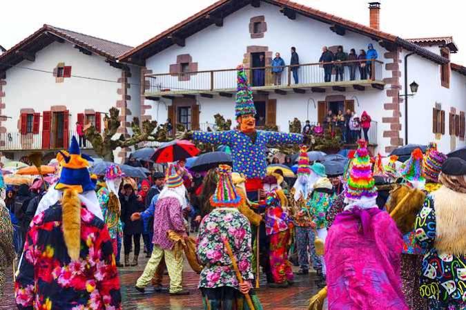 Los Carnavales de Lantz, en Navarra