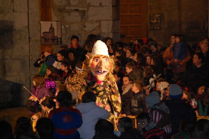 Bruja de Lezeaga, en el Carnaval de Llodio