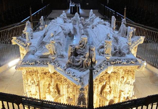 Monasterios fabulosos: la Cartuja de Miraflores en Burgos