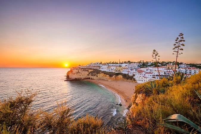 Carvoeiro, un buen destino en el Algarve de Portugal