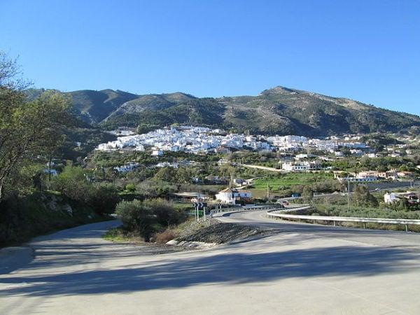 La localidad de Casarabonela, en Málaga