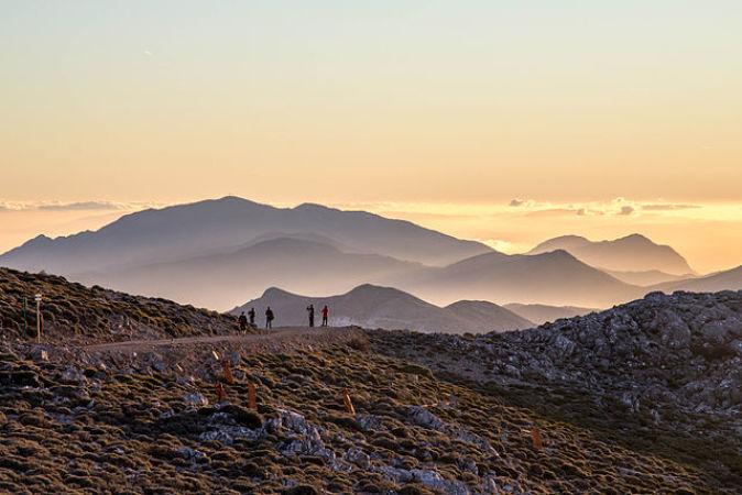 Parque Natural Sierra de las Nieves, en Málaga