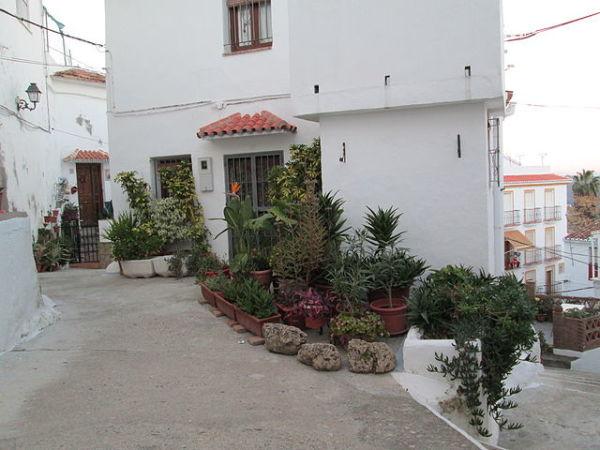 Un rincón de Casarabonela, en Málaga