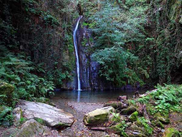 La Cascada del Salto do Coro, en Lugo