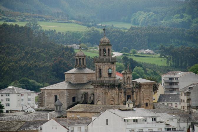 La localidad de Mondoñedo, en Lugo