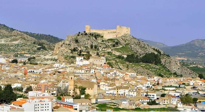 Panorámica de Castalla, en Alicante