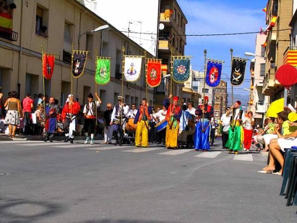 Fiestas de Moros y Cristianos de Castlla, en Alicante
