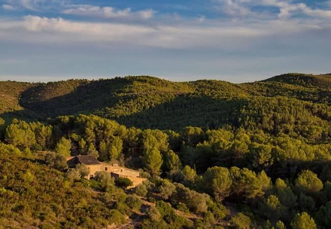 Parque de Garraf en Castelldefels