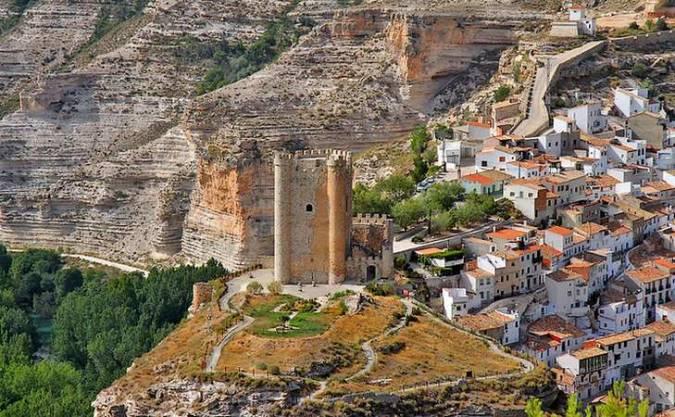 El Castillo de Alcalá del Júcar, en Albacete