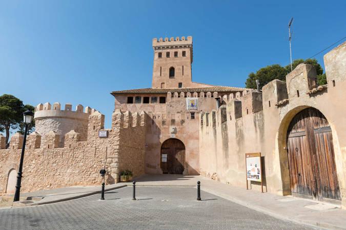 El Castillo de Benissanó, en Valencia