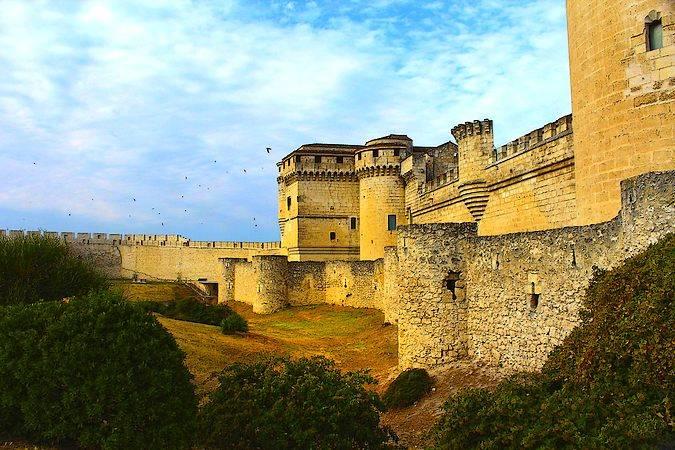 El Castillo de Cuéllar, en Segovia