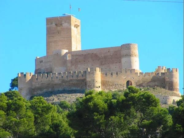 El Castillo de Biar, en Alicante