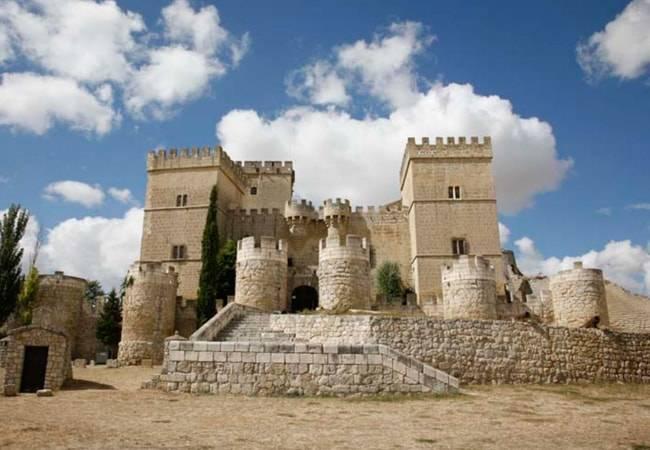 El castillo de cuento en Ampudia, Palencia