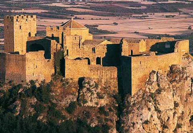 Una visita de fábula al Castillo de Loarre en Huesca