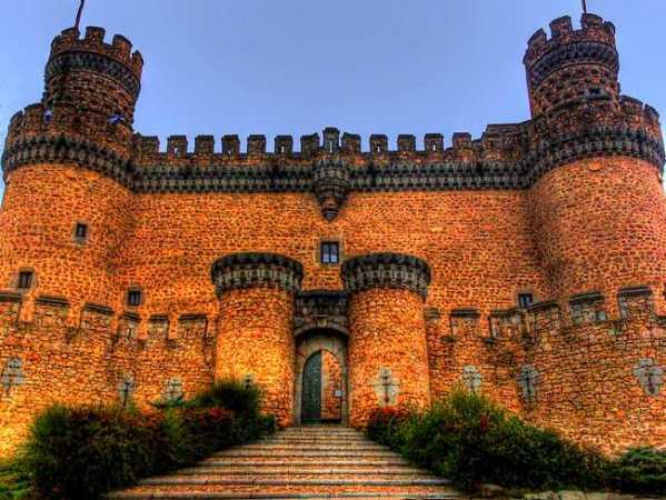 El Castillo de los Mendoza, en Manzanares El Real