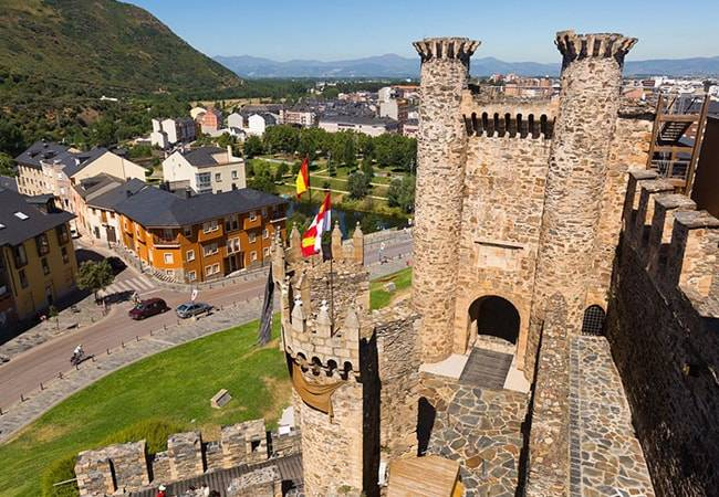 Información práctica del Castillo de Ponferrada