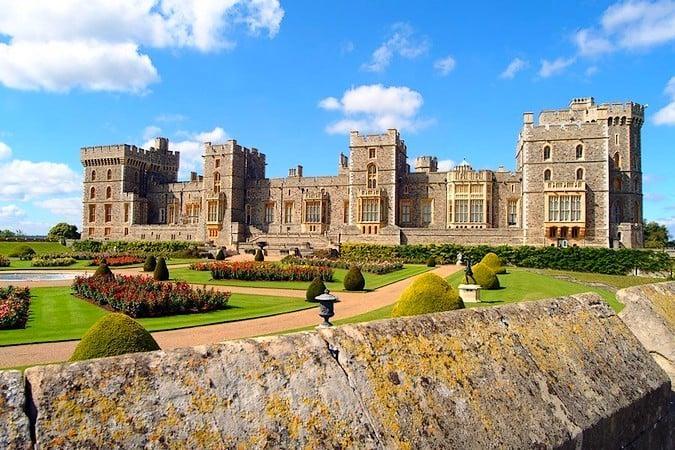 El Castillo de Windsor, en Inglaterra