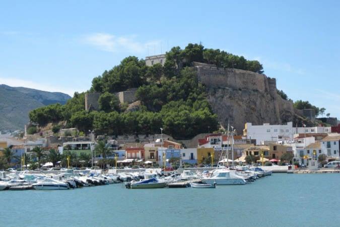 El castillo de Dénia, en Alicante