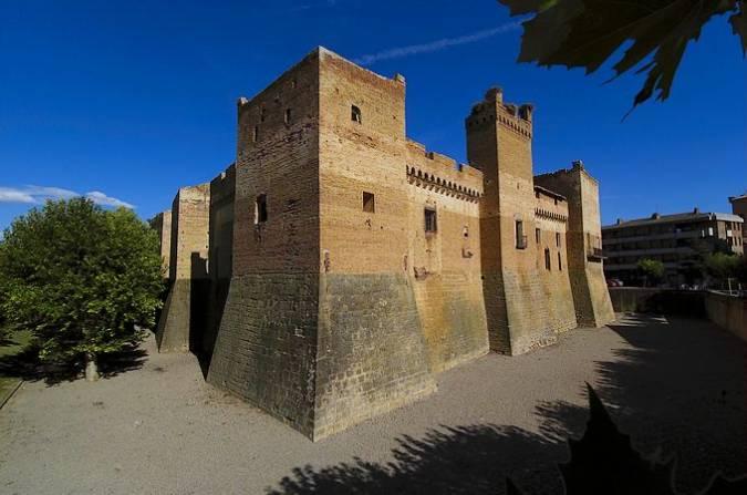 El Castillo de Marcilla, en Navarra