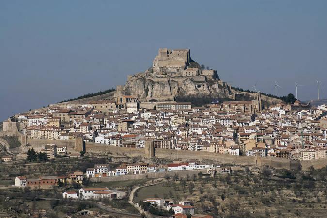 El castillo de Morella, en Castellón