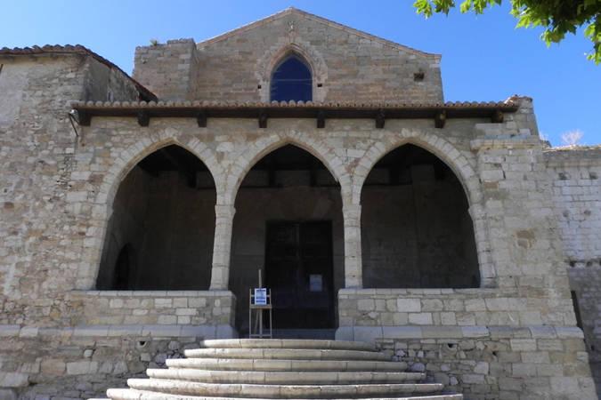 Entrada al Castillo de Morella