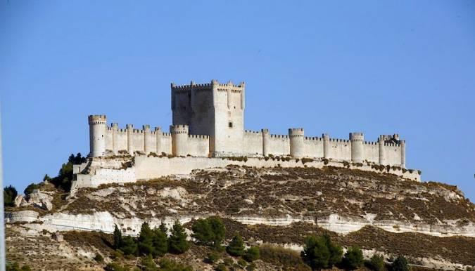 El Castillo de Peñafiel, en Valladolid