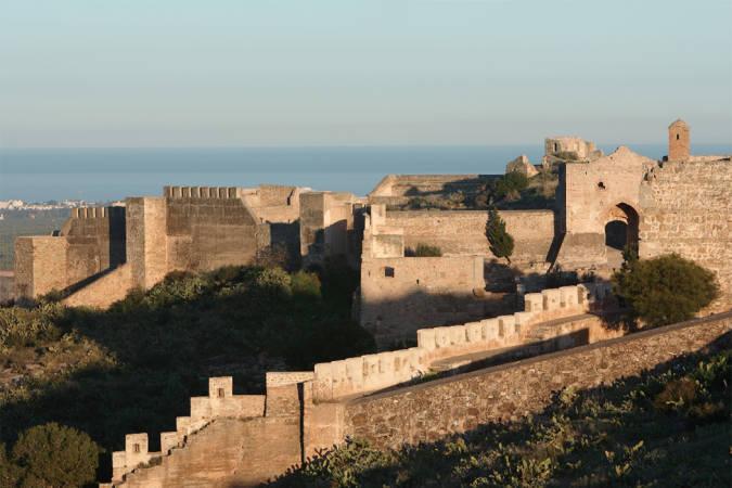 El castillo de Sagunto, en Valencia