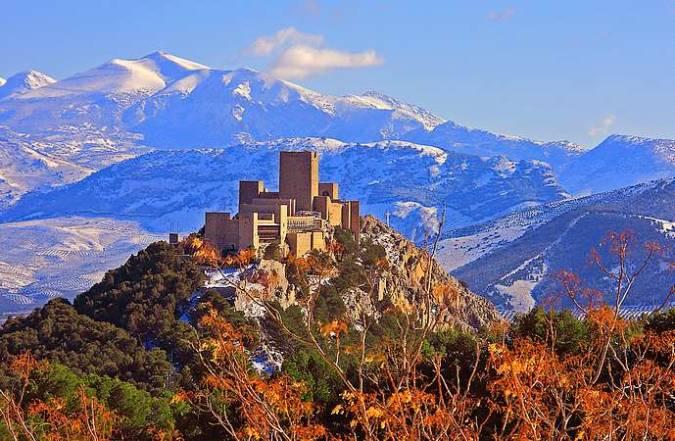Castillo de Santa Catalina, en Jaén