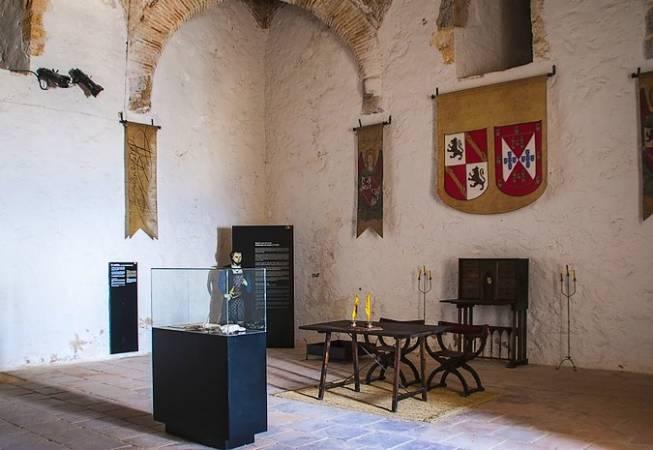 Interior del Castillo de Santa Catalina, en Jaén