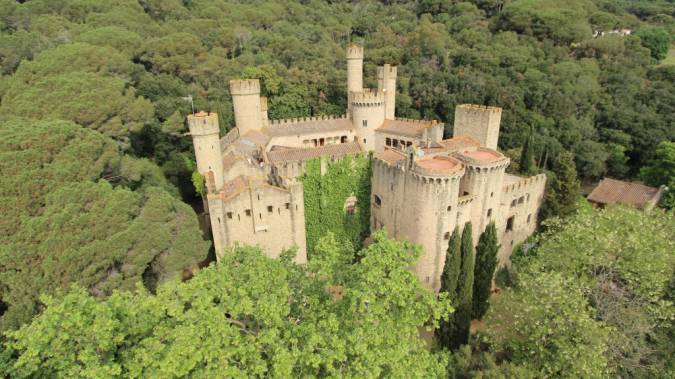Castillo de Santa Florentina, un sueño hecho realidad
