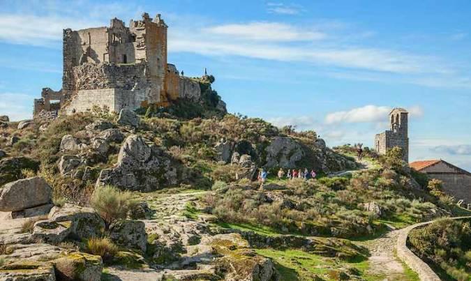 El Castillo de Trevejo, en Cáceres