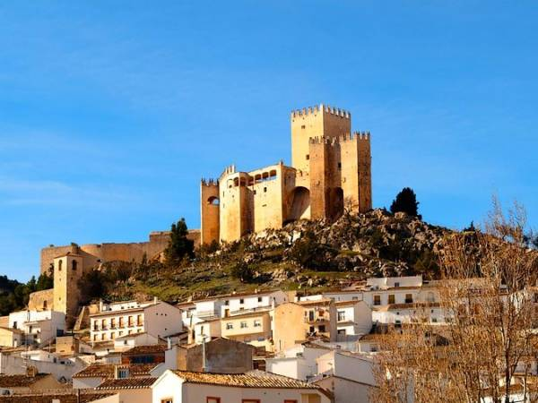 Visita al Castillo de Vélez-Blanco, en Almería